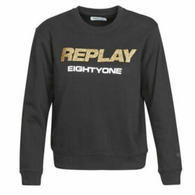 Replay  -  women's Sweatshirt in Black