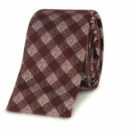 Gibson Red Gingham Tie