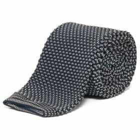 Chester Barrie Spot Knitted Tie