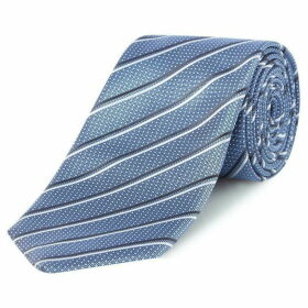 Boss Diagonal Stripe Tie