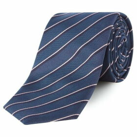 Boss Diagonal Fine Stripe Tie