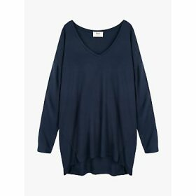 hush V-Neck Jersey Top