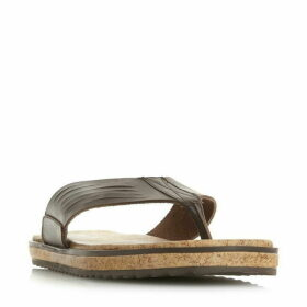 Bertie Isolate Cork Toe Post Sandal Shoes