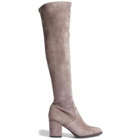 Karen Millen Suede Over-The-Knee Boot