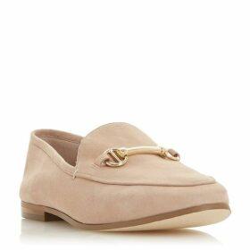 Dune WF Guiltt Wide Fit Snaffle Trim Loafers