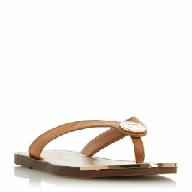 Dune Lagoons Metal Trim Sandals