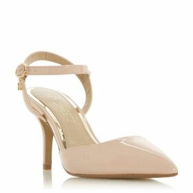Head Over Heels Cindi Ankle Strap Pointed Court Shoes