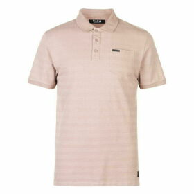 Firetrap Textured Stripe Polo