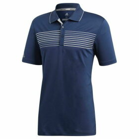 adidas Textured Tipped Polo