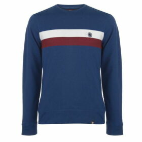 Pretty Green Engineered Chest Stripe Sweatshirt