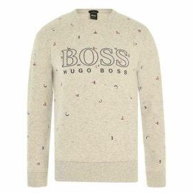 Boss Hugo Salbo Logo Sweatshirt Mens