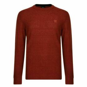 Boss Kadrisly Logo Knitted Sweatshirt
