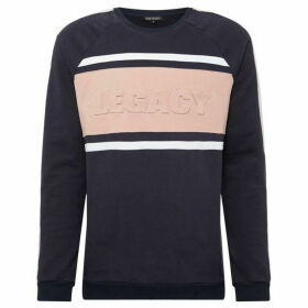 Dead Legacy Embossed Colourblock Sweatshirt