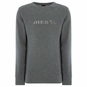 Diesel Willy Logo Side Stripe Sweatshirt