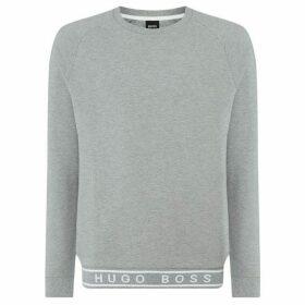 Boss Contemporary ribb tape logo sweatshirt