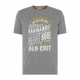 Raging Bull Heart and Soul T Shirt