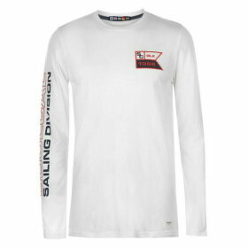 SoulCal Long Sleeve Embroidered T Shirt