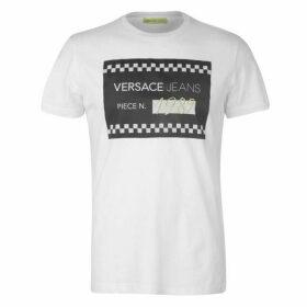 Versace Jeans Couture Versace 1989 Logo T Shirt