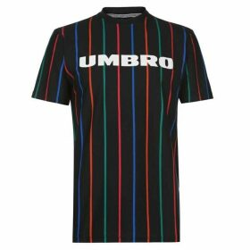 Umbro Malone Stripe T Shirt