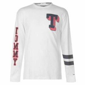 Tommy Jeans Varsity Long Sleeve T Shirt