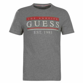 Guess 81 Stripes T Shirt