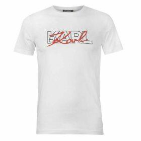 Karl Lagerfeld Karl Script T Shirt