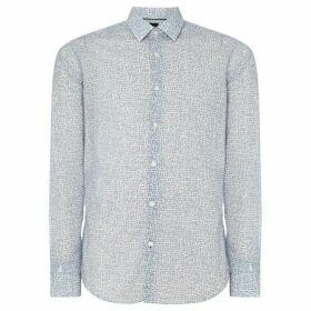 Boss Lukas F Rectangular Geo Print Shirt