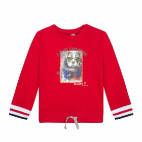 3 Pommes Baby Boy Red Sweat Shirt