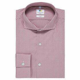 Richard James Coloured Gingham Slim Fit Shirt