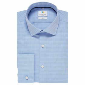 Richard James Spot Jacquard Slim Fit Shirt
