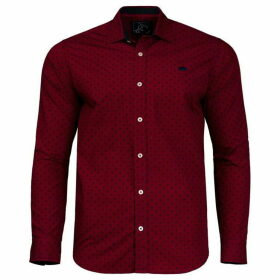 Raging Bull Big And Tall Geo Ditzy Print Shirt