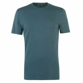 Michael Kors Liquid Jersey Crew Neck T-Shirt