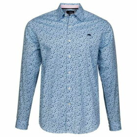 Raging Bull Big and Tall Blossom Print Shirt