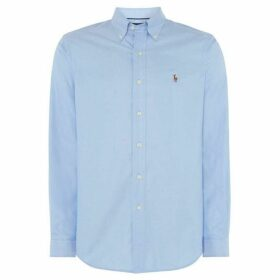Polo Golf Plain Oxford Non-Iron Dress Shirt