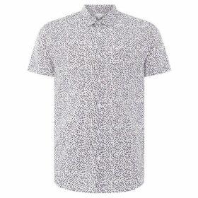 Linea Bethnal Blurred Spot Print Shirt