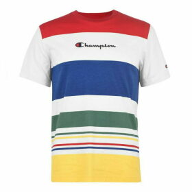 Champion Stripe T Shirt