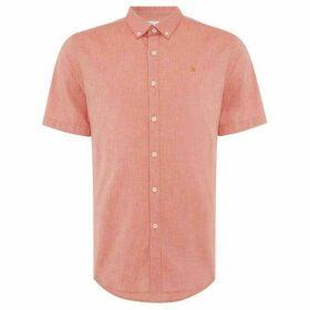 Farah Steen Slim Fit Short Sleeve Shirt