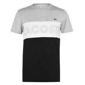 Lacoste Colour Block T Shirt