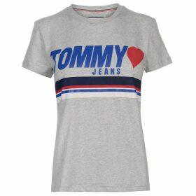 Tommy Jeans Jersey Logo T Shirt
