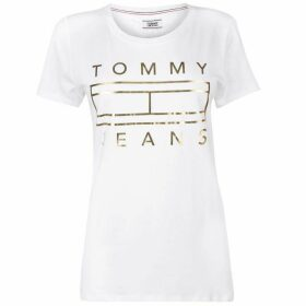 Tommy Jeans Metallic Logo T Shirt
