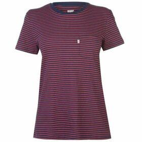 Levis Perfect Stripe T Shirt Womens