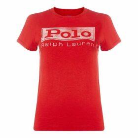 Polo Ralph Lauren Polo Faded Logo Tee Ld91