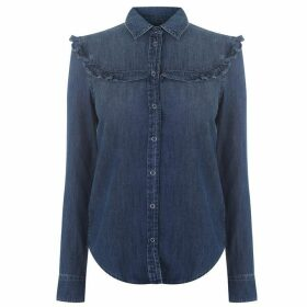 AG Jeans Ruffle Top