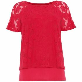 Phase Eight Jolee Fan Burnout Top