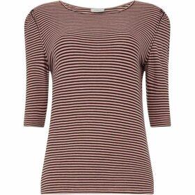 Marella Stripe jersey top