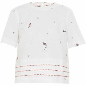 Ted Baker Nolene Swimmers Embroidered Shell Top