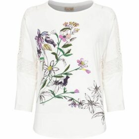 Phase Eight Peggy Bird Print Top