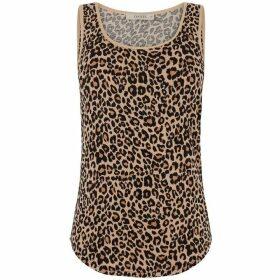 Oasis Animal Print Vest