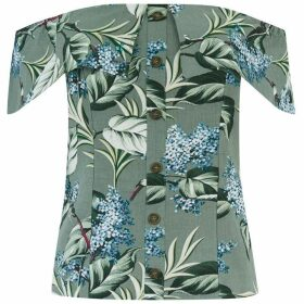Oasis Palm Beach Bardot Top