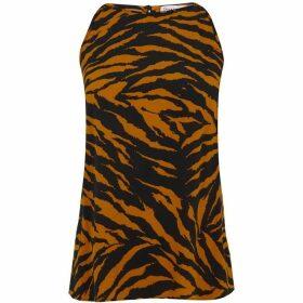 Warehouse Tiger Print Cami Top